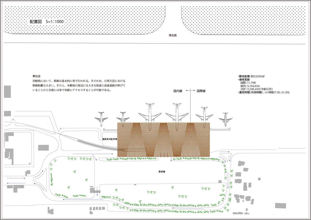 新宮崎空港ターミナルビル -これからの地方空港--3
