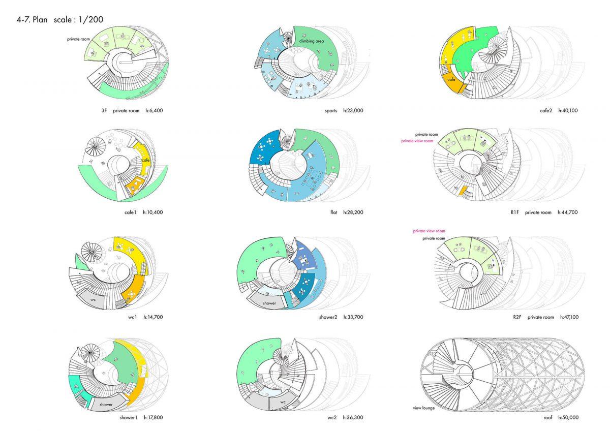 地上に宇宙を挿入する -複合施設としての宇宙エレベーター基地の設計--5