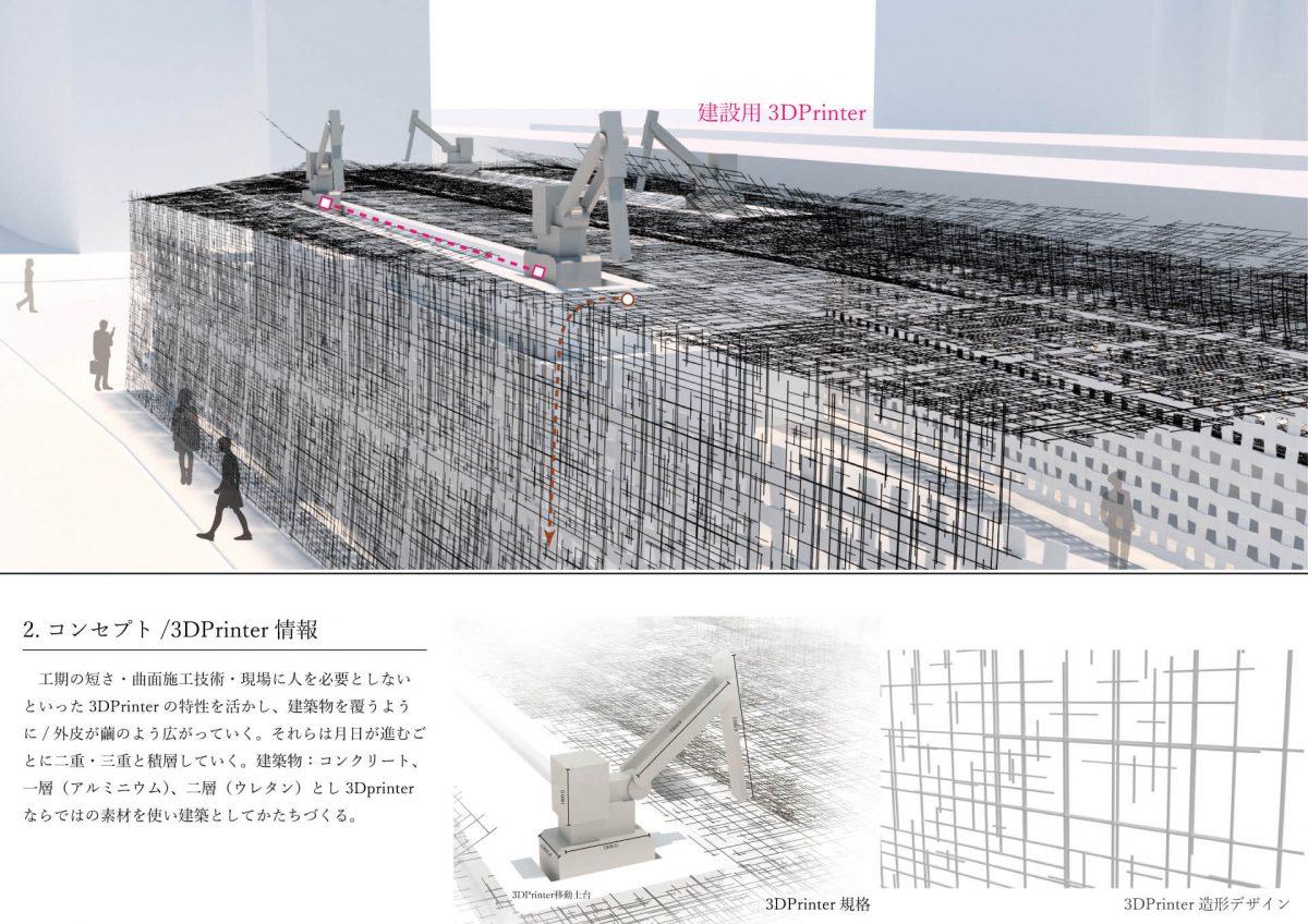 機械が編む空間 -3Dプリンターによるマシンランドスケープ--3