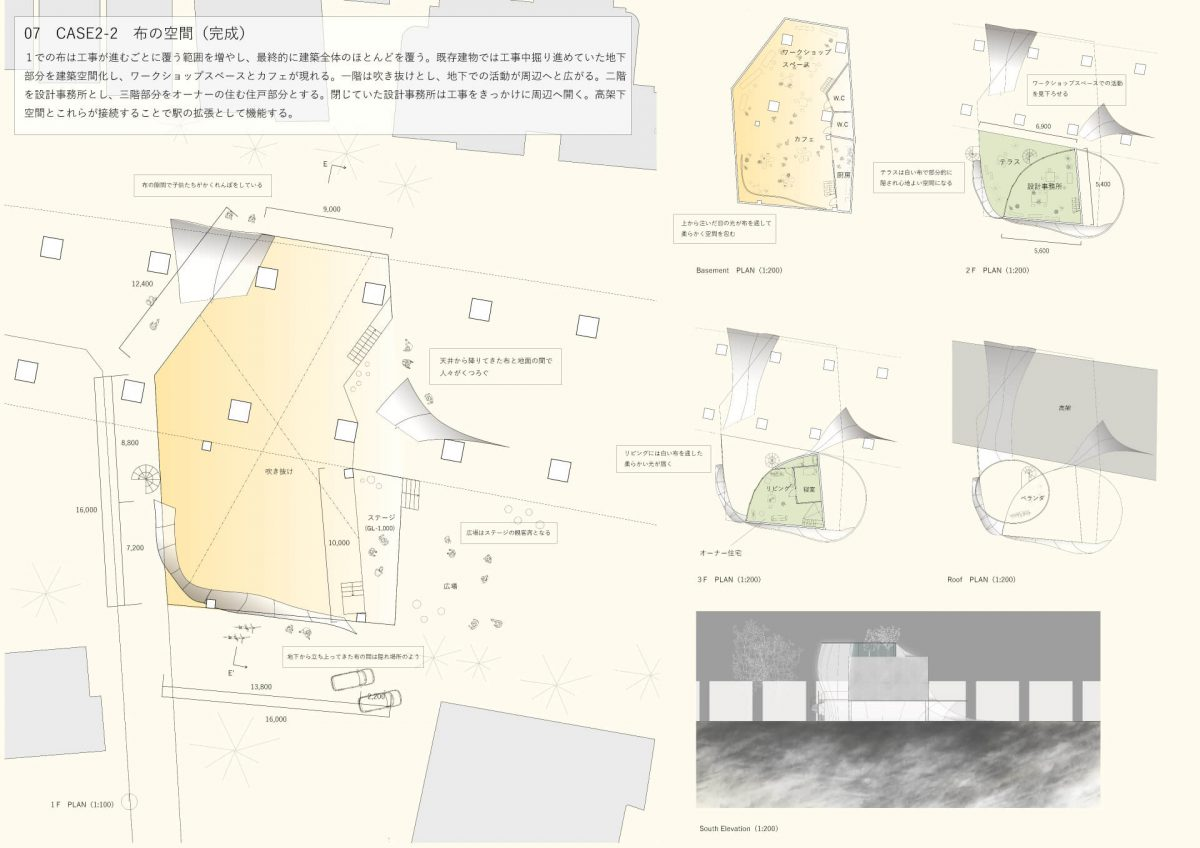 都市と当たる身体 -駅の高架化に伴う副産物的建築--9
