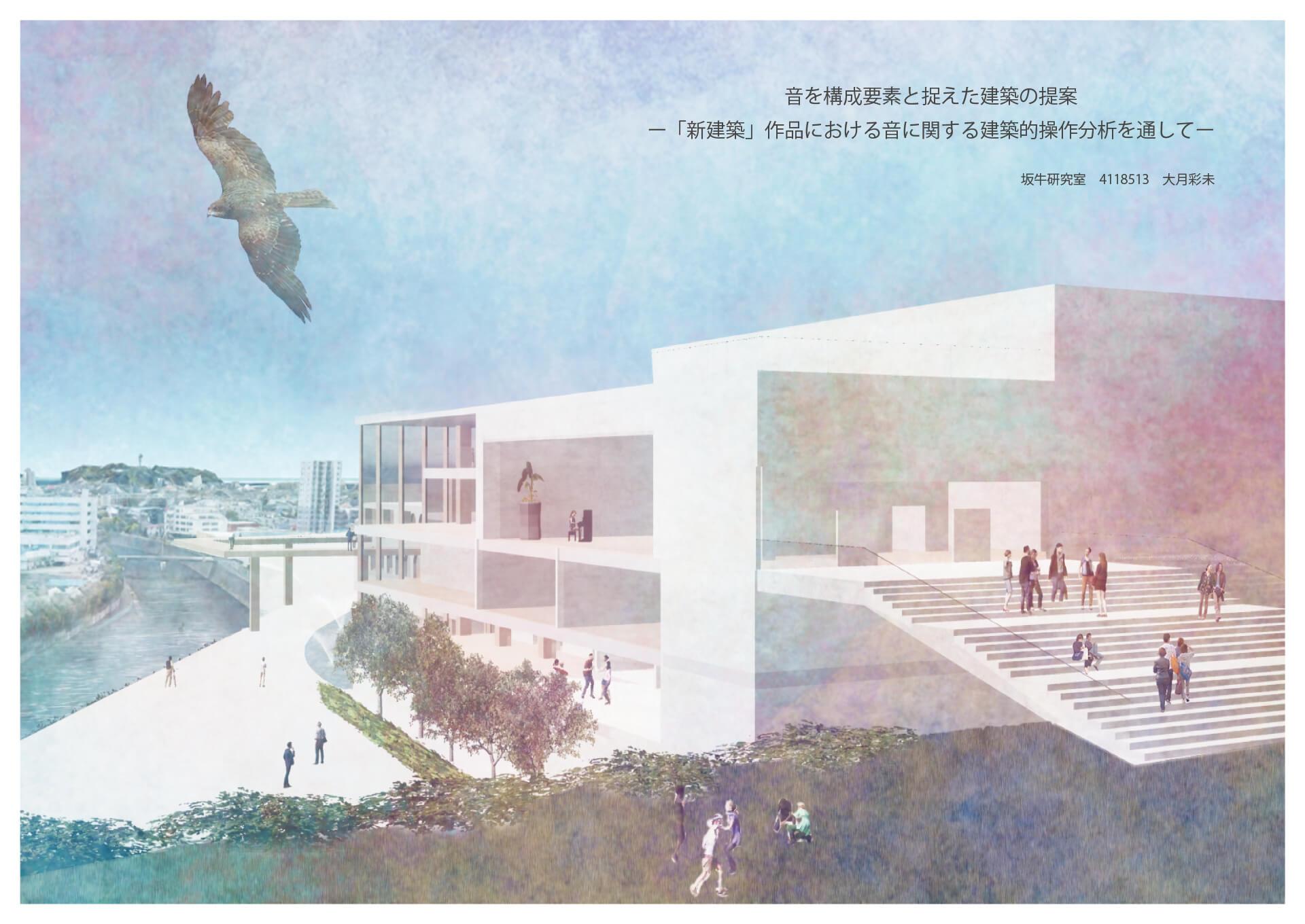 音を構成要素と捉えた建築の提案 -「新建築」作品における音に関する建築的操作分析を通して--1