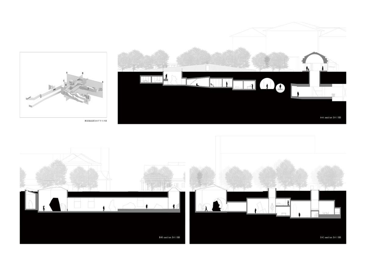 地下を利用したアーティスト・イン・レジデンス施設の提案 -狭小住宅における地下居室の定量分析を通して--15