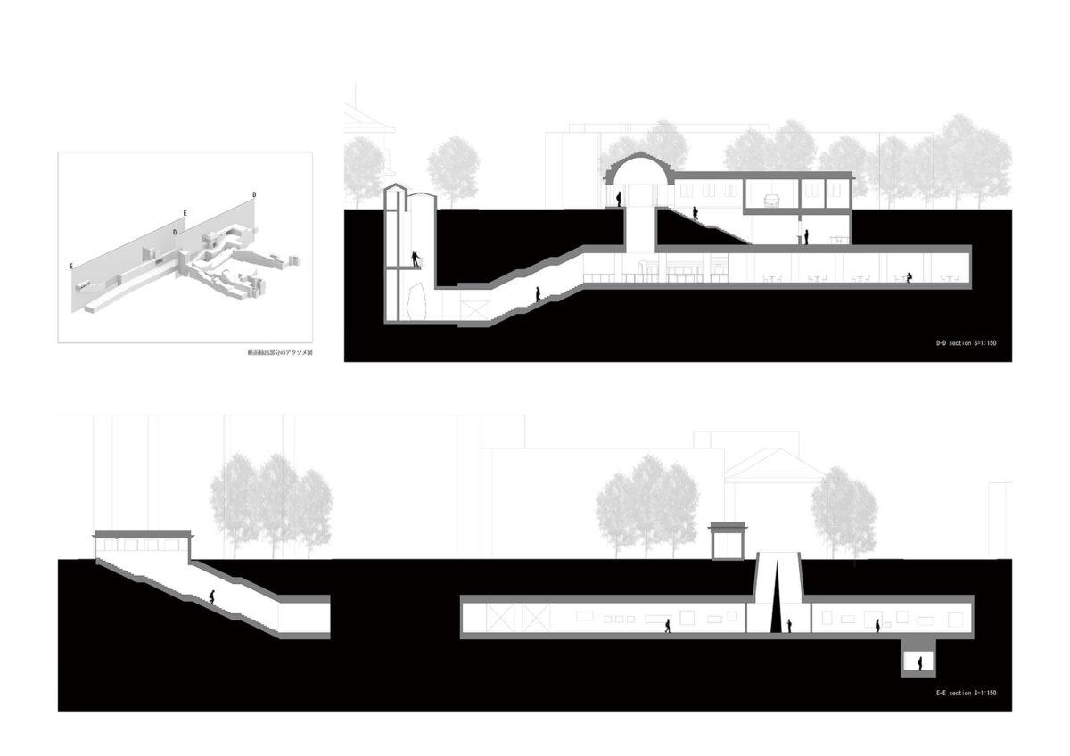 地下を利用したアーティスト・イン・レジデンス施設の提案 -狭小住宅における地下居室の定量分析を通して--16