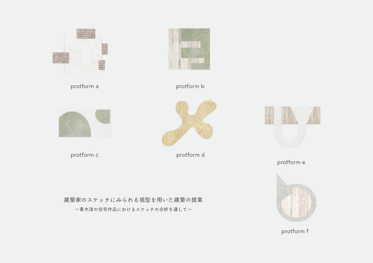 建築家のスケッチにみられる祖型を用いた建築の提案 -青木淳の住宅作品におけるスケッチの分析を通して--1