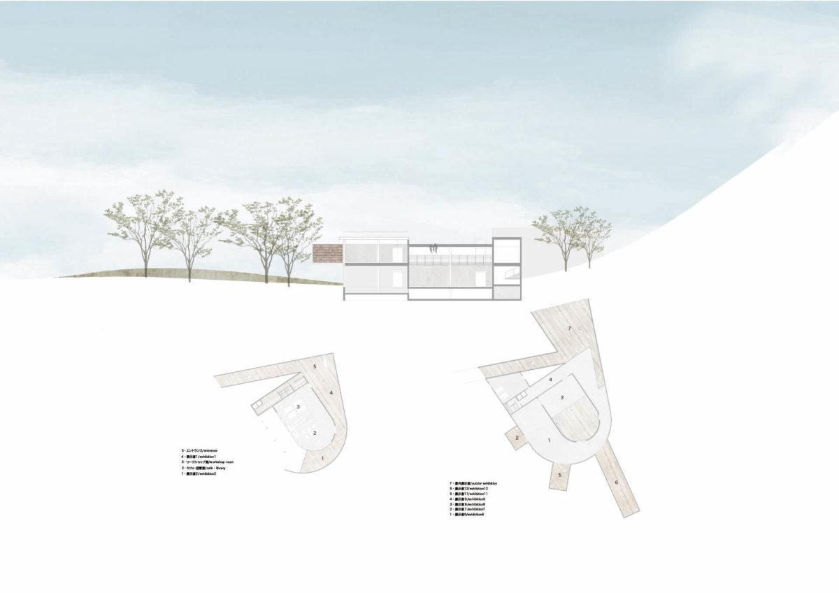 建築家のスケッチにみられる祖型を用いた建築の提案 -青木淳の住宅作品におけるスケッチの分析を通して--12