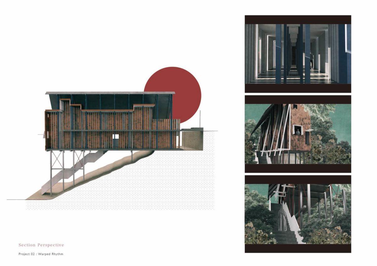 未完の想造 -見立てを用いた風景の解釈による多義的な建築--11