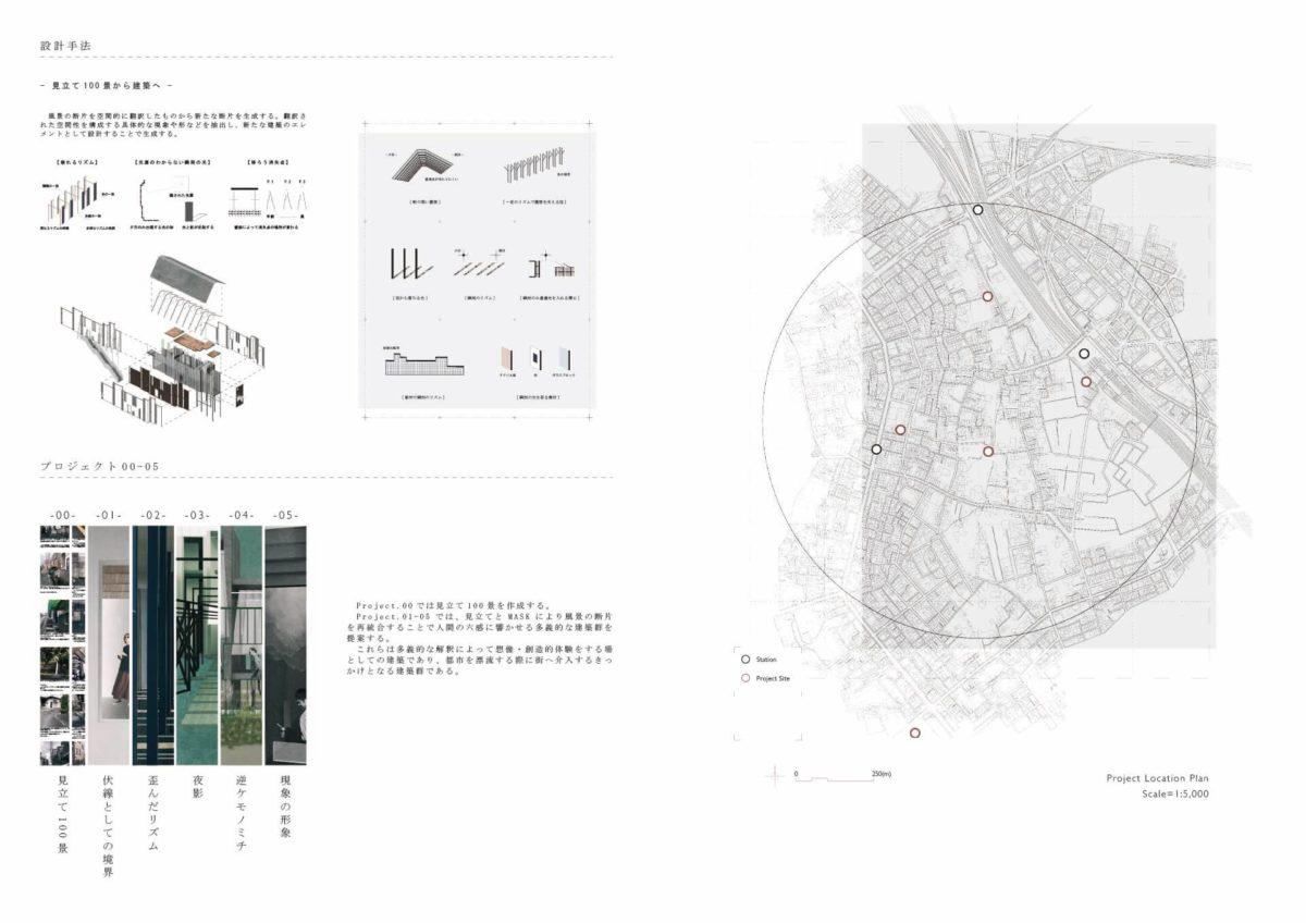 未完の想造 -見立てを用いた風景の解釈による多義的な建築--4