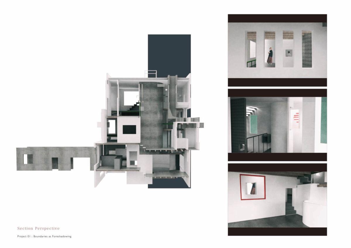 未完の想造 -見立てを用いた風景の解釈による多義的な建築--8