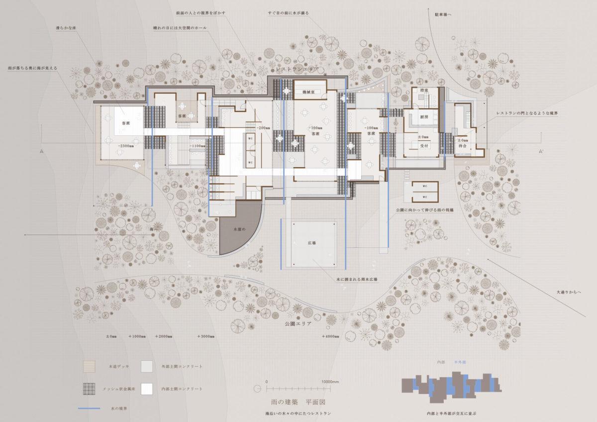 自然と一体化する建築 -代替・様相・連関の視点に基づく設計手法--5
