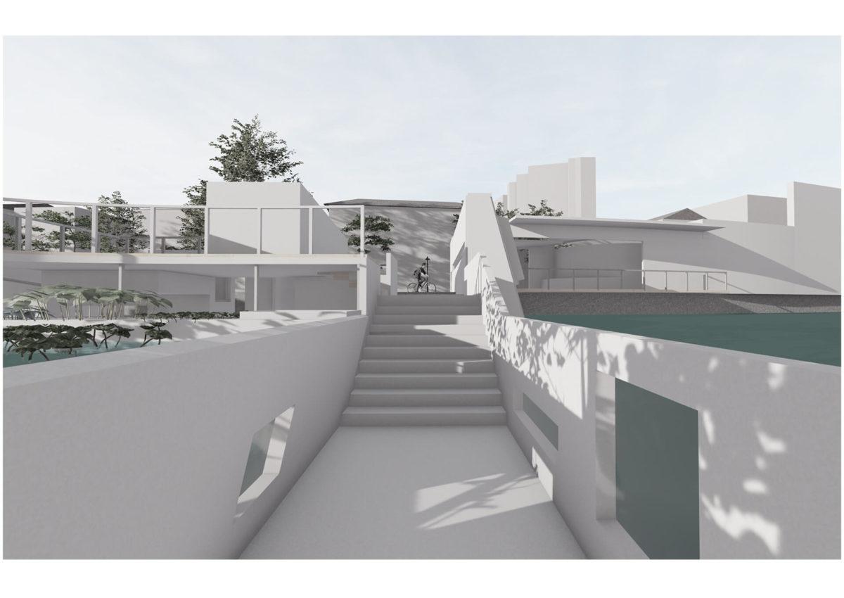 多様な光環境を用いた水辺空間の提案 -アルヴァロ・シザの公共建築における光環境の分析を通して--15