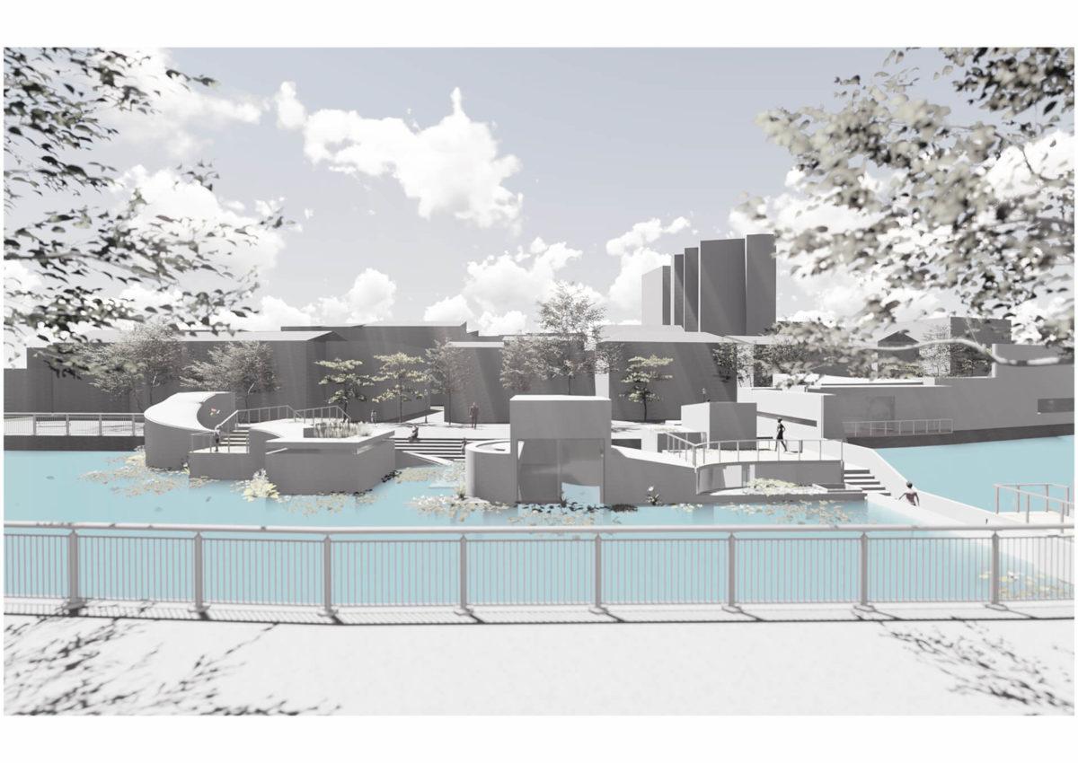 多様な光環境を用いた水辺空間の提案 -アルヴァロ・シザの公共建築における光環境の分析を通して--16