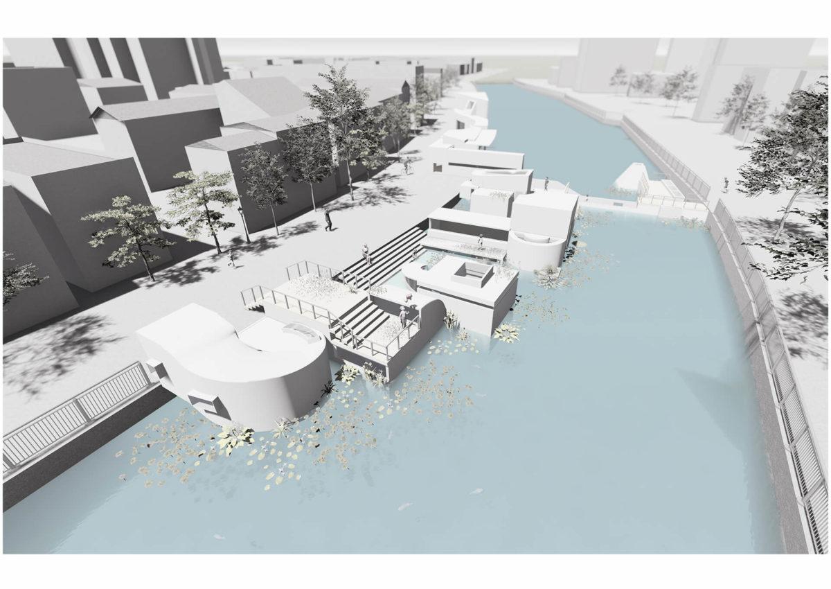 多様な光環境を用いた水辺空間の提案 -アルヴァロ・シザの公共建築における光環境の分析を通して--17