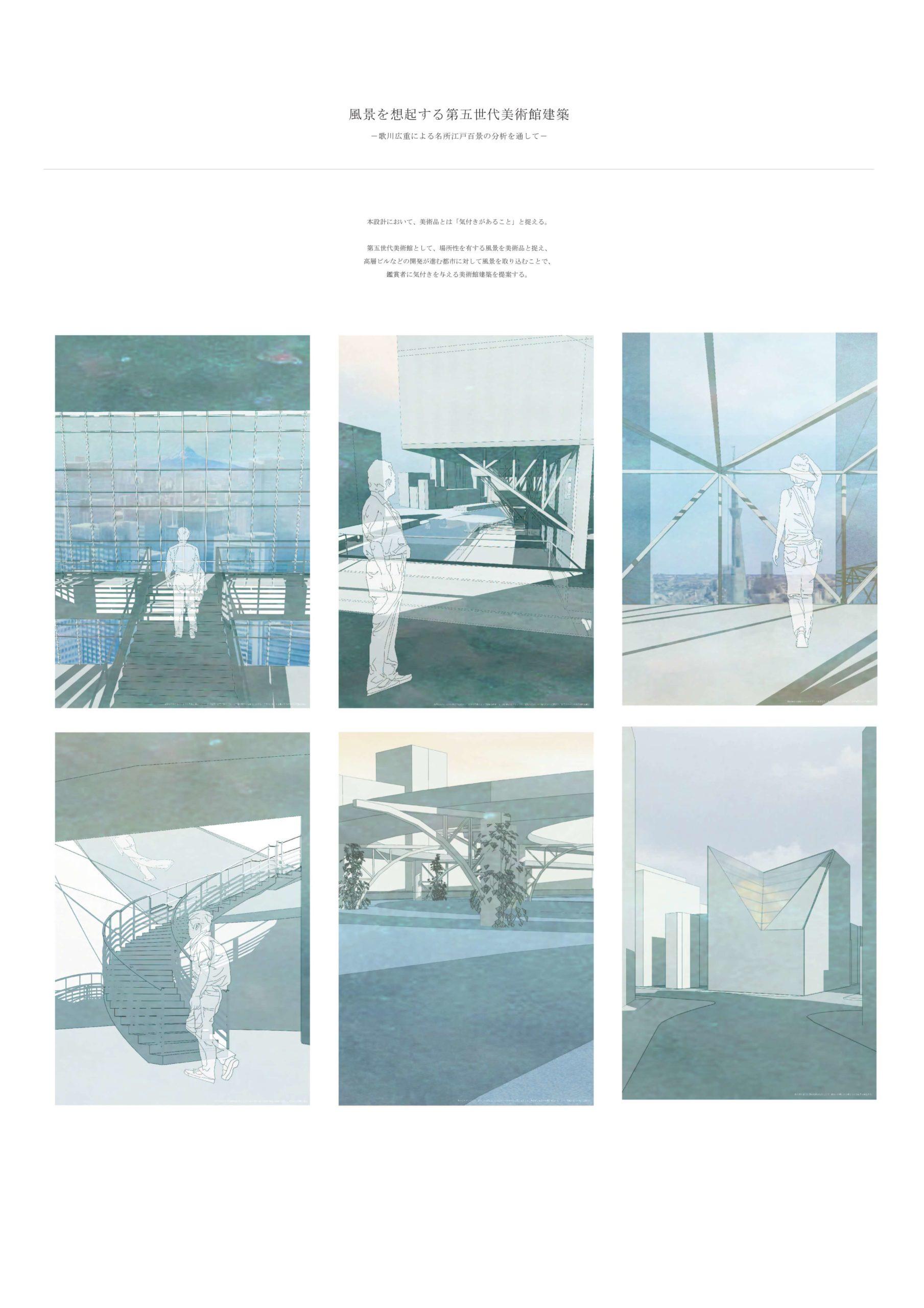 風景を想起する第五世代美術館建築 -歌川広重による名所江戸百景の分析を通して--1