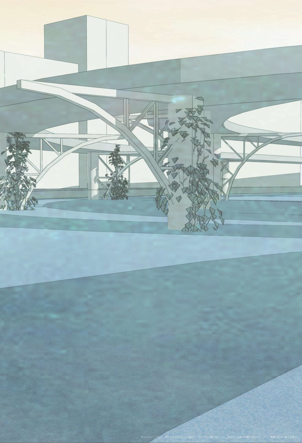風景を想起する第五世代美術館建築 -歌川広重による名所江戸百景の分析を通して--18