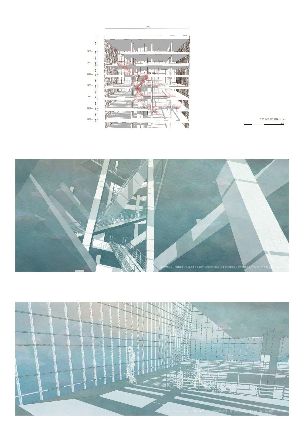 風景を想起する第五世代美術館建築 -歌川広重による名所江戸百景の分析を通して--5