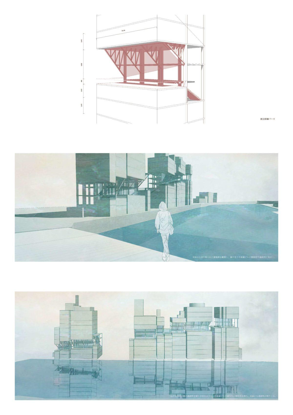 風景を想起する第五世代美術館建築 -歌川広重による名所江戸百景の分析を通して--8