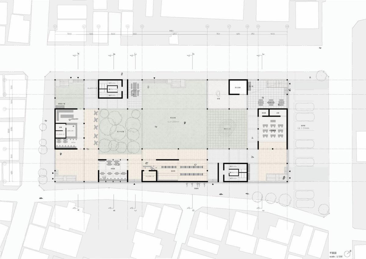 天井設計論 -天井の凹凸と、空間性の変化の連関について--9